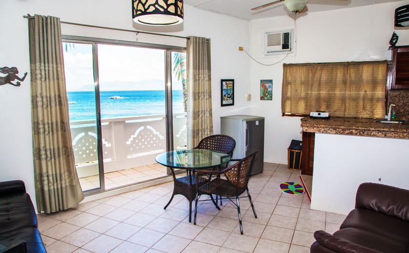 1 bedroom oceanfront suite scandi divers resort puerto galera