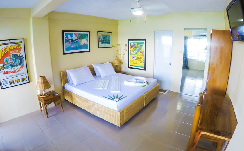 campbells beach resort penthouse room puerto galera