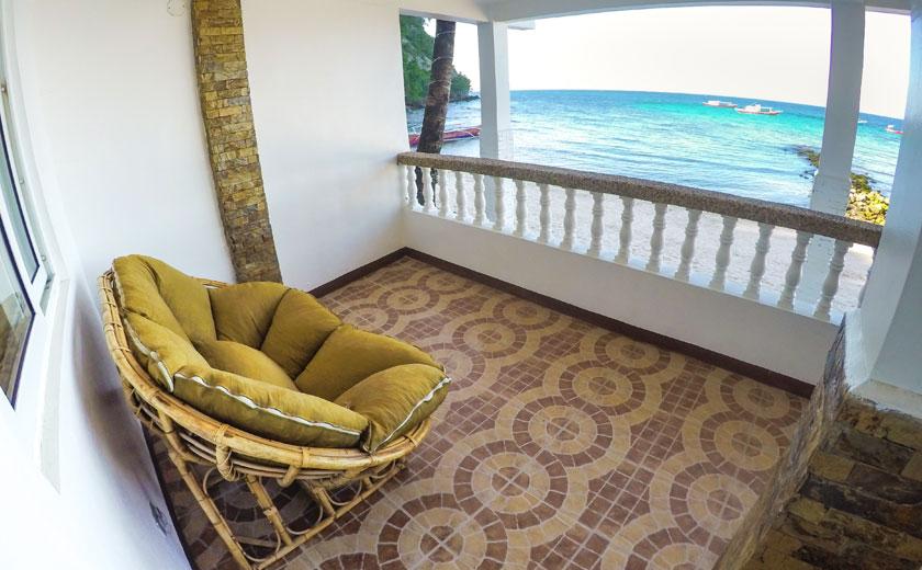 scandi divers resort puerto galera beachfront deluxe room