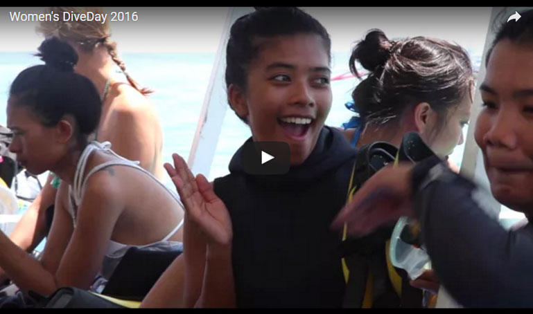 womens dive day 2016 puerto galera philippines